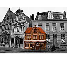 Petit Dumon - Bruges, Belgium Photographic Print