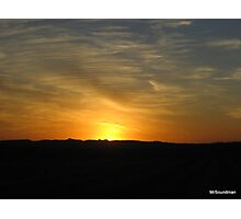 Colorado Sunset Photographic Print