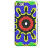 Abstract modern colorful pattern iPhone Case/Skin