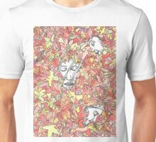 A Family in Autumn Unisex T-Shirt