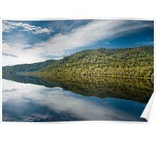 Mirrored Wilderness - Gordon River, Tasmania Poster
