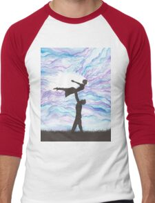 Love Takes Flight Men's Baseball ¾ T-Shirt