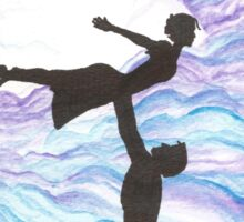 Love Takes Flight Sticker