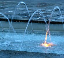 Water Flames In York by ChrissieXe