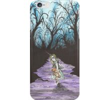 Alice on the Run iPhone Case/Skin