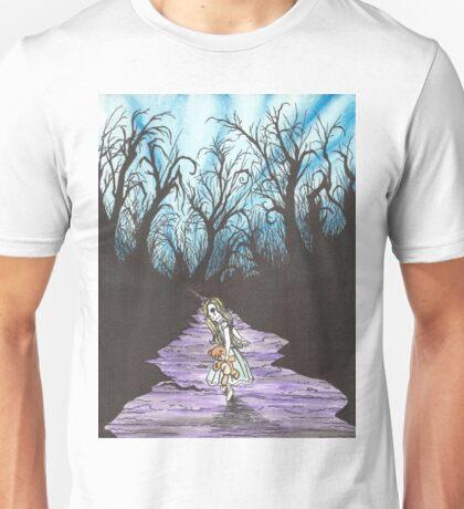 Alice on the Run Unisex T-Shirt