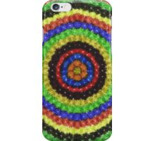 Colorful circle dots pattern iPhone Case/Skin