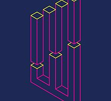 Impossible Shapes: Columns by Jeff Merrick