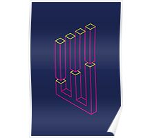 Impossible Shapes: Columns Poster