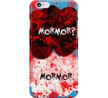 Mormor? Mormor. Sebastian Moran&Jim Moriarty iPhone Case/Skin