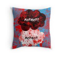 Mormor? Mormor. Sebastian Moran&Jim Moriarty Throw Pillow