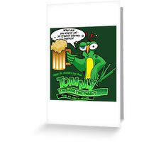 Tommy the Inulsting Parrot - Blarney Greeting Card