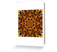 Golden Hell Fleur in the Dark Greeting Card