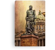 Russian Field Marshal Barclay de Tolly Canvas Print