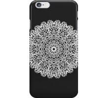 modern white black abstract pattern iPhone Case/Skin