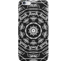 black white strange pattern iPhone Case/Skin