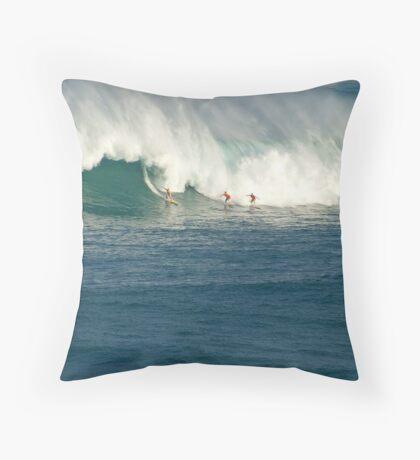 Waimea Bay Masters Throw Pillow