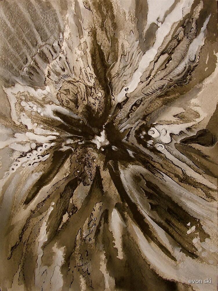 Heart of the Burr Oak by evon ski