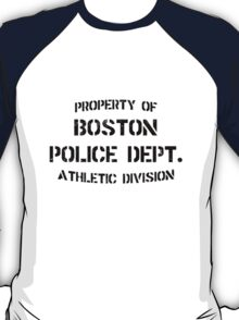 Property of Boston Police Department T-Shirt