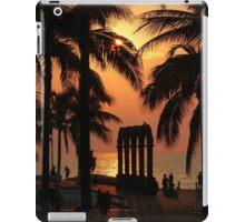 pictures of a sunset I - imagenes de una puesta del sol iPad Case/Skin