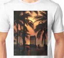 pictures of a sunset I - imagenes de una puesta del sol Unisex T-Shirt