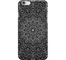 Black and white trendy pattern iPhone Case/Skin
