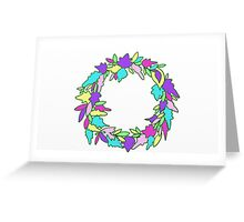 Colourful Enchanted Forest Greeting Card