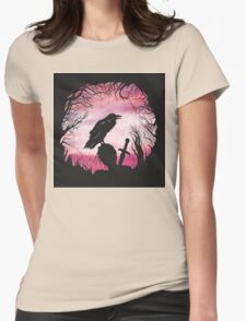 The Raven  Womens Fitted T-Shirt
