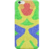 Modern abstract multicolored pattern iPhone Case/Skin