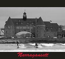 Surfs Up at Narragansett by John McNamara