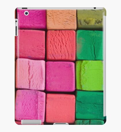 colored cubes iPad Case/Skin