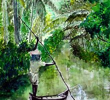 Water colour painting. by ninamishra
