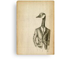 Duck, Duck, Goose Suit Canvas Print