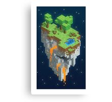 Minecraft HEXELS Canvas Print