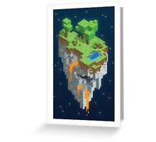 Minecraft HEXELS Greeting Card