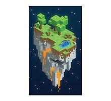 Minecraft HEXELS Photographic Print