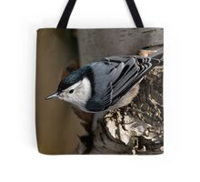 White Breasted Nuthatch - Ottawa, Ontario Tote Bag