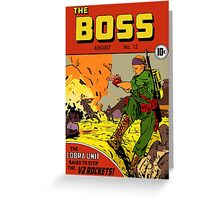 The Boss #12 Greeting Card