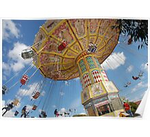 Anyone for a swing? - Royal Melbourne Show Poster