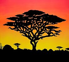 Meanwhile, In Africa by Moodphaser