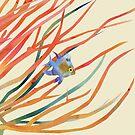 Blue Fish by SuburbanBirdDesigns By Kanika Mathur