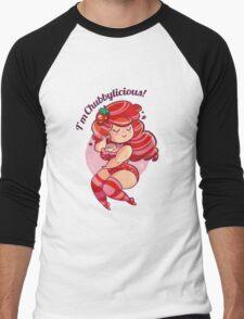 Chubbylicious - Strawberry Men's Baseball ¾ T-Shirt