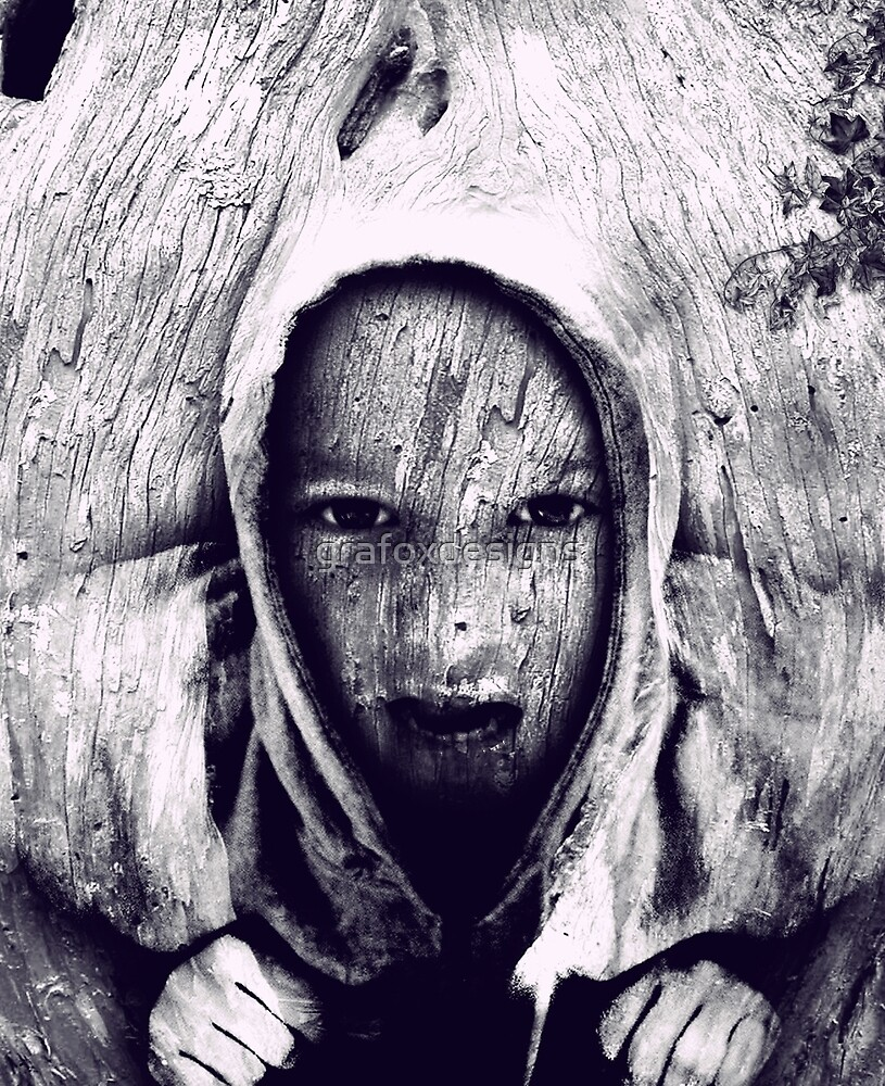 Hood in the Wood by grafoxdesigns