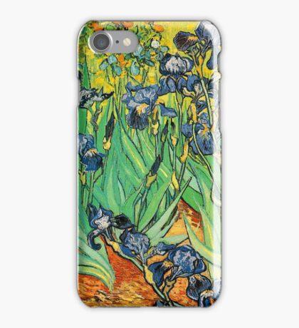 Irises, Vincent van Gogh iPhone Case/Skin
