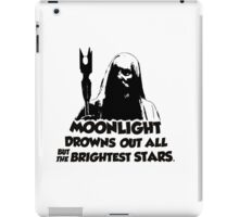 R.I.P Sir Christopher Lee bl iPad Case/Skin