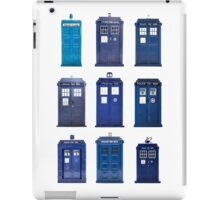 TARDIS Typology iPad Case/Skin