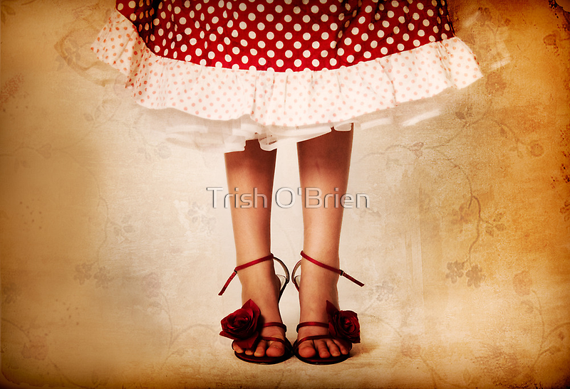 In my mother's shoes by Trish O'Brien