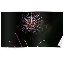Burst of New Year Colour Poster