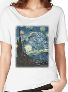 Starry Night Women's Relaxed Fit T-Shirt