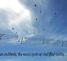 MUSIC TAKES FLIGHT by DilettantO